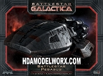 BATTLESTAR PEGASUS 1:4105 SCALE MODEL KIT by Moebius Models